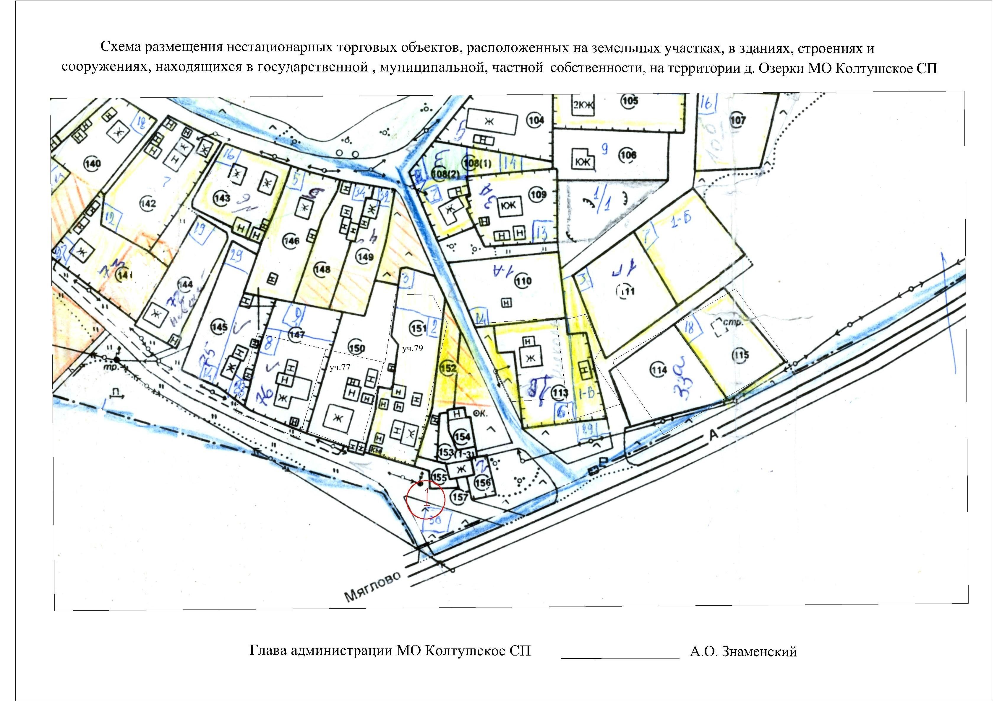 Схема размещения нестационарных торговых объектов санкт-петербурга